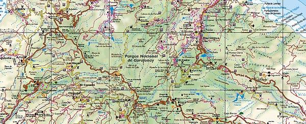 Kartor Over La Gomera